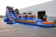 22 foot tsunami with slip and slide
