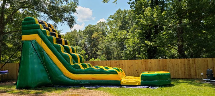 19 foot super sonic dry slide